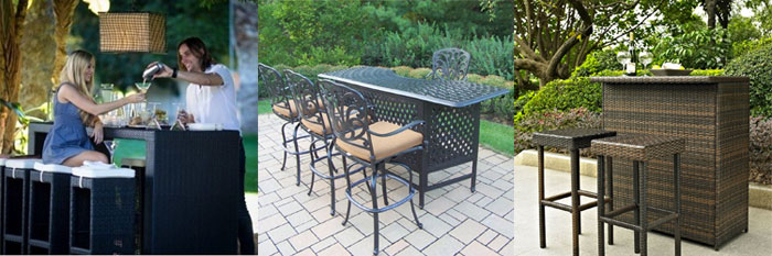 chairs patio sets size bar furniture height suitable and outdoor medium table set